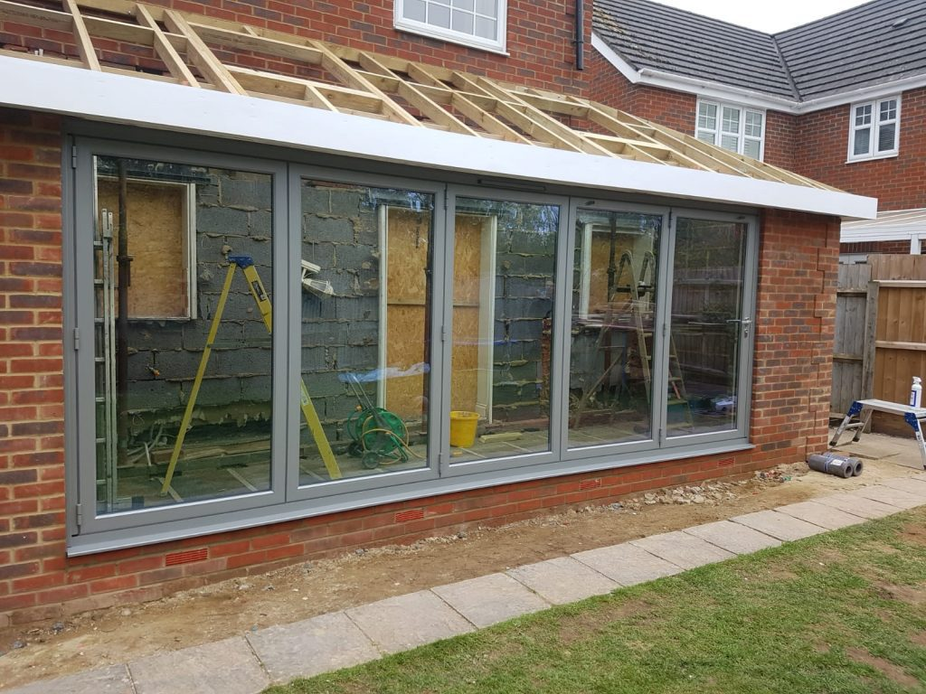 Origin bifolding doors in Cambridge